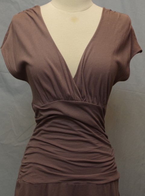Velvet by Graham & Spencer short dress muted plum Knit Comfy on Tradesy