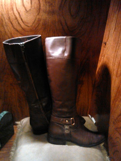 Lauren Ralph Lauren Riding Brown Boots