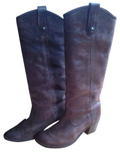 Frye Melissa Tall Western Brown Boots