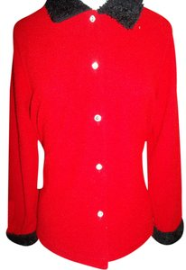 Eccobay Jacket Button Front Classy Career Casual Knit Sweater
