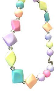 Trifari Colorful Pastel Spring Necklace