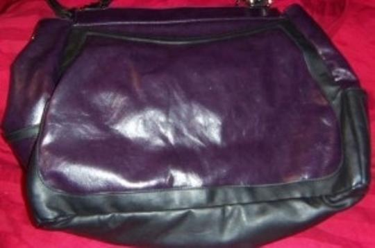 MICHE Tote in Purple/Black