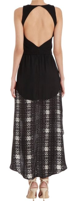 Parker High Silk Flowy Maxi Dress