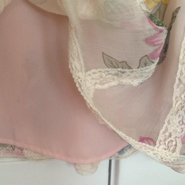 WD.NY Skirt Pink/lace/floral