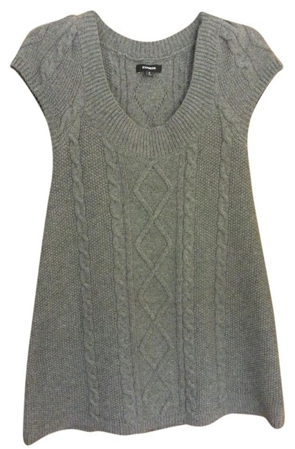 Preload https://item4.tradesy.com/images/express-grey-wool-blend-sweater-above-knee-workoffice-dress-size-4-s-1333583-0-0.jpg?width=400&height=650