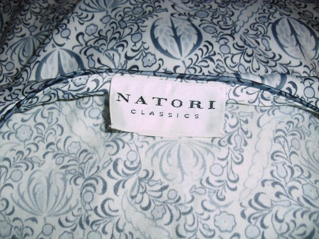 gray white Maxi Dress by Natori