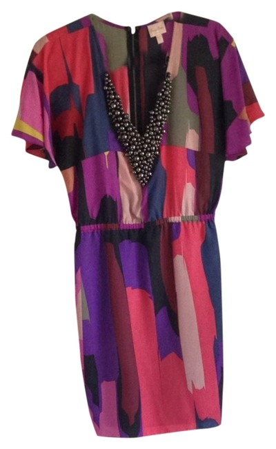 Preload https://item3.tradesy.com/images/tracy-reese-multi-color-colorful-above-knee-night-out-dress-size-8-m-1333752-0-0.jpg?width=400&height=650