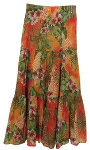 Dolce&Gabbana Maxi Skirt Multi color