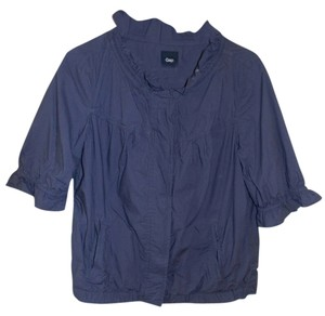 Gap Ruffle purple Jacket