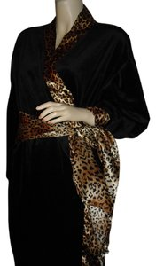 brown leopard Maxi Dress by Natori