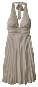 Speechless Pleated Halter Dress