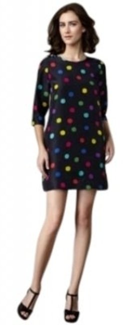 Preload https://img-static.tradesy.com/item/133424/kate-spade-navy-with-multicolor-dots-above-knee-short-casual-dress-size-4-s-0-0-650-650.jpg