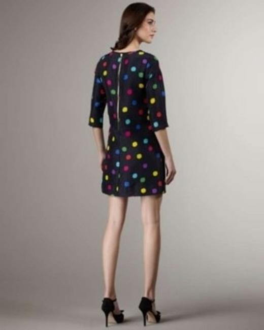 Kate Spade short dress Navy with multicolor dots on Tradesy