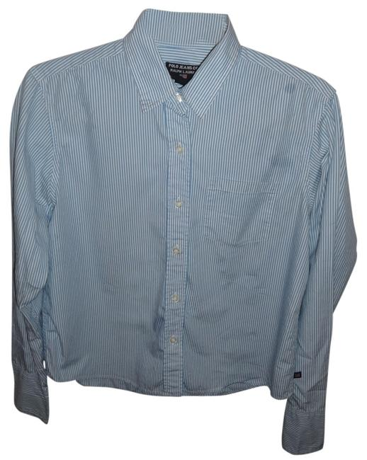 Polo Ralph Lauren Button Down Shirt White/blue