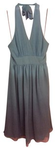 Express Silk Halter Dress