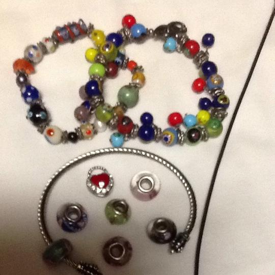 Other Hand Made Beaded Bracelets, Necklace And Charm Bracelet