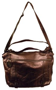 BCBG Max Azria Metallic Leather New Nwt Shoulder Bag