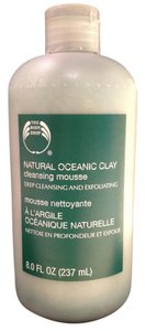 The Body Shop Clay Facial Cleansing Mousse; Oceanic by The Body Shop (8.0 237 ml./ 8 Fl. Oz.) - [ Roxanne Anjou Closet ]