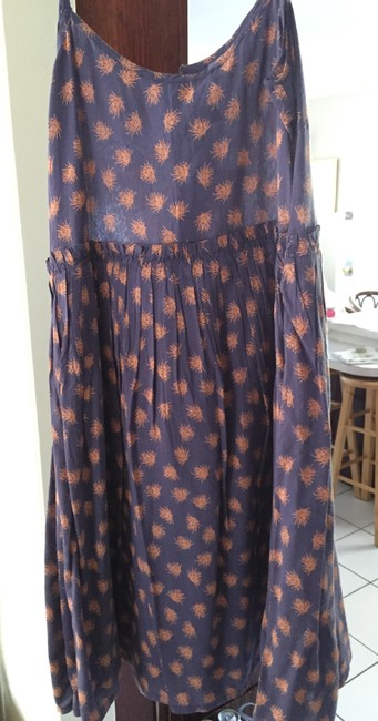 Purple, tan Maxi Dress by French Connection Summer Resort