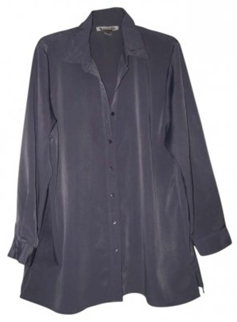 Silhouettes Button Down Shirt Dusty Lilac