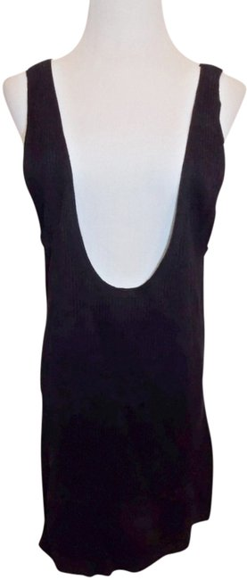 Charlotte Ronson Jumper Ribbed Knit Vest Tunic