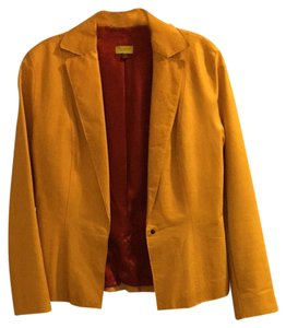 John Carlisle Tan Leather And Dark Red Inside Jacket