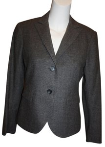 Theory Wool Staple Grey Blazer