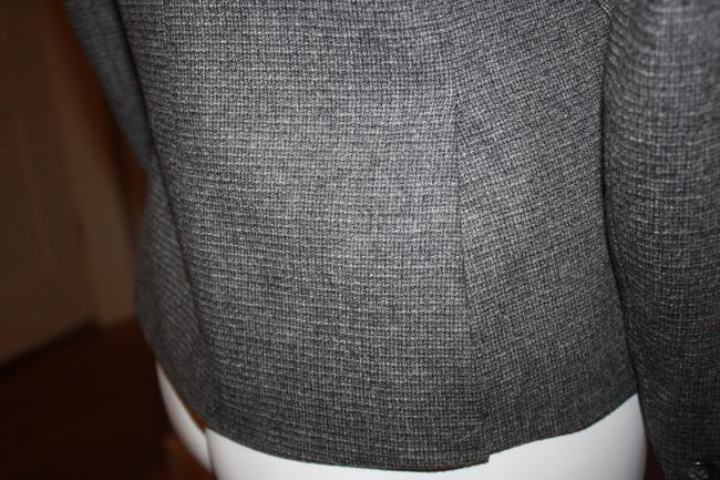 Theory Wool Staple Classic Classy Tapered Grey Blazer