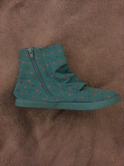 Blowfish Malibu Print Button Zippered Printed Boots