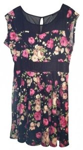 Fashion to Figure short dress Floral Print Skater on Tradesy