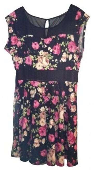 Preload https://item2.tradesy.com/images/fashion-to-figure-floral-print-skater-above-knee-short-casual-dress-size-16-xl-plus-0x-133501-0-0.jpg?width=400&height=650