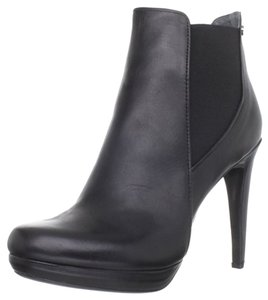Calvin Klein Bootie Leather Calf Black Boots