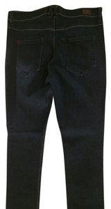 Urban Outfitters Highrise Straight Leg Jeans-Dark Rinse