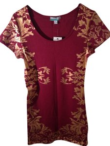 Cotton On short dress Maroon and Gold on Tradesy