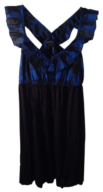 paper tee short dress Black and Blue on Tradesy