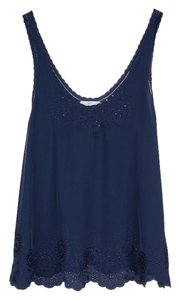 Joie Silk Josie Theory Equipment Top Navy