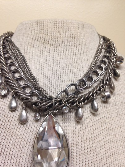 Other Silver tone/ stone vintage look