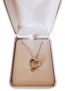 Independent Sterling Silver Heart Necklace