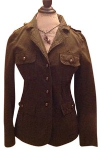 Banana Republic Military Brass Buttons Military Jacket
