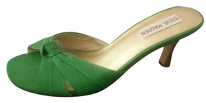Steve Madden Green Sandals
