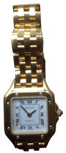 Geneva 18kt Gold Geneva Swiss quartz watch
