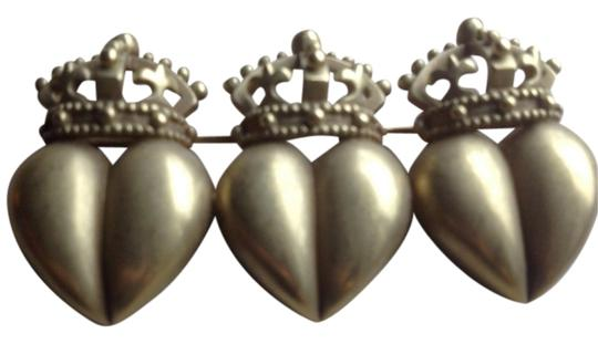 Barry Kieselstein-Cord Hearts and Crown brooch pin