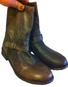 ZIGI NEW YORK Leather antique brown Boots