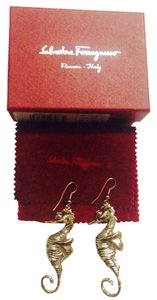Salvatore Ferragamo Nwt Salvatore Ferragamo Sea Horse Earrings