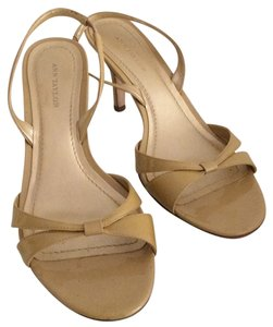Ann Taylor Patent Toffee Formal