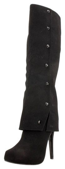 Preload https://item3.tradesy.com/images/black-fashion-knee-high-stiletto-microfiber-studded-bootsbooties-size-us-10-1336452-0-0.jpg?width=440&height=440