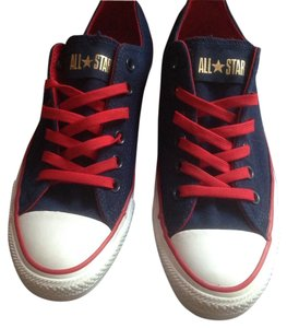 Converse Blue Red Gold Athletic