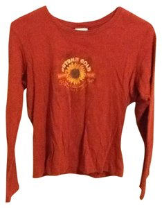 Columbia Sunflower Long Sleeve Comfortable Casual Floral Simple Sweater