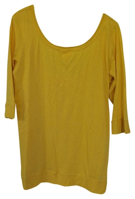 Stephanie B. T Shirt Yellow