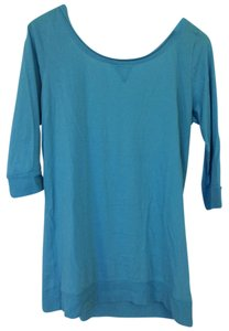 Stephanie B. T Shirt Turquoise Blue